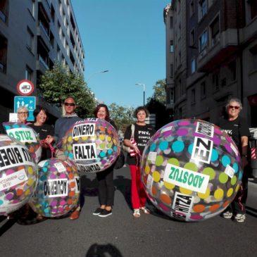 Fiestas reivindicativas en Vitoria-Gasteiz