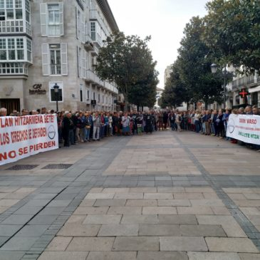Vitoria-Gasteiz.  Kontzentrazio  masiboa  2019/10/30